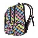 Plecak młodzieżowy CoolPack SPARK 3 przegrody COLOUR CHECK CP 525
