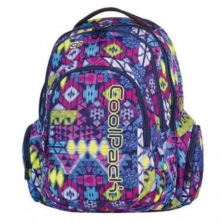 Plecak młodzieżowy CoolPack SPARK 3 przegrody TRIBAL CP 510