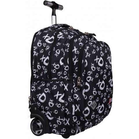 Plecak na kółkach ST.RIGHT xD czarny TB01 BACK TO SCHOOL
