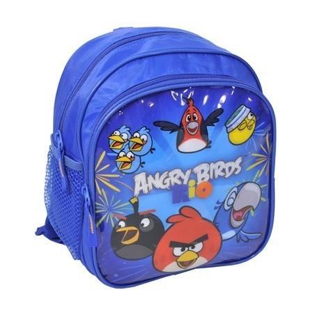 Plecaczek Angry Birds Rio niebieski