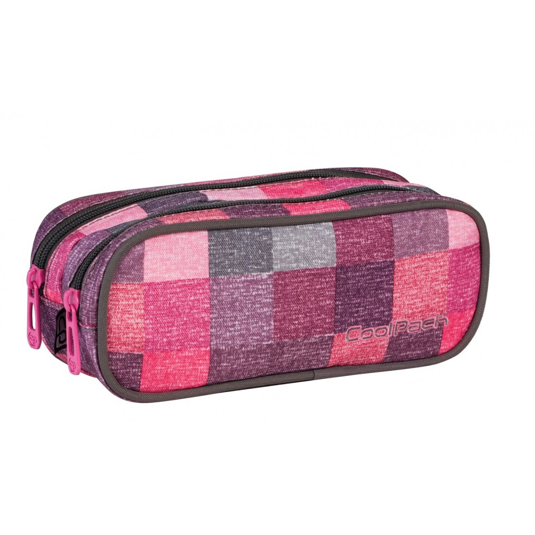Saszetka podwójna CoolPack CLEVER ROSE SHADES CP 410 - plecak-tornister.pl