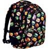 Plecak młodzieżowy ST.RIGHT MACARONS makaroniki BP01