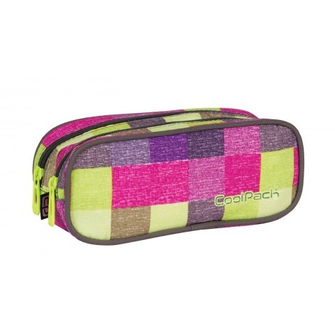 Saszetka podwójna CoolPack CLEVER MULTICOLOR SHADES CP 407