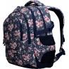 Pojemny plecak szkolny dla uczennic ST.RIGHT Roses, zmieści książki, zeszyty szkolne, jak również laptop czy tablet