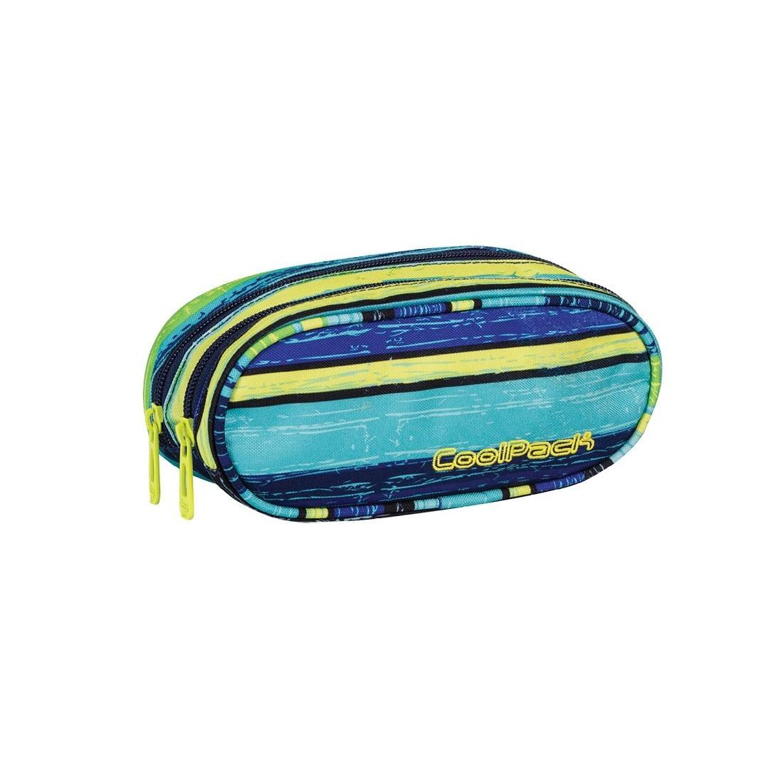 Saszetka dwukomorowa owalna ACADEMY CoolPack BLUE LAGOON CP 531 - plecak-tornister.pl