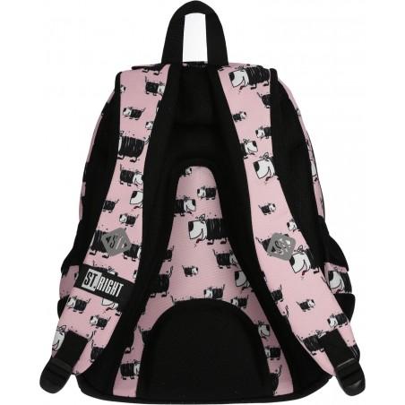 Regulowane pasy naramienne plecaka szkolnego dla nastolatek dodadzą komfortu podczas noszenia