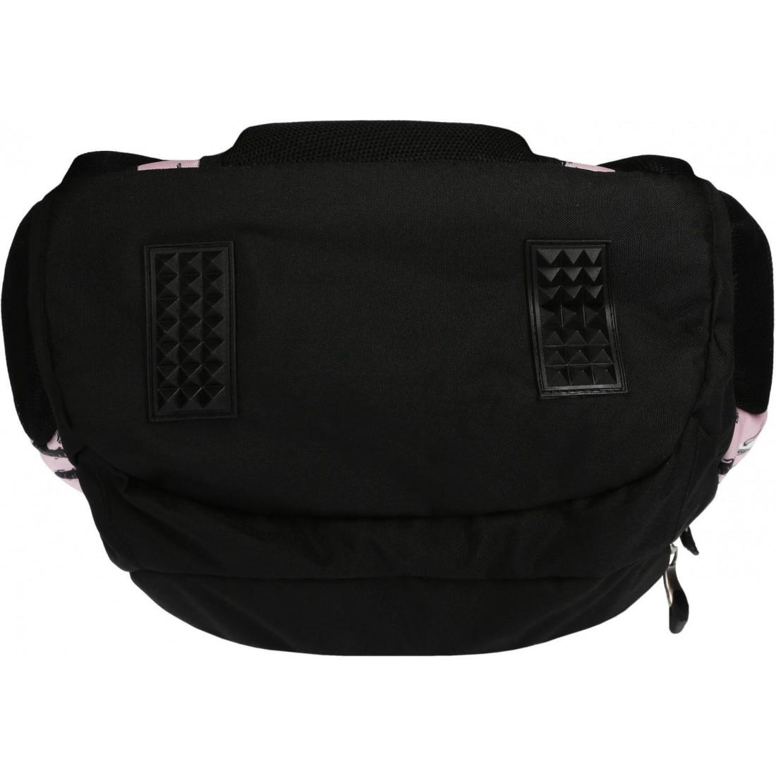Plecak dla nastolatek różowy w pieski ST.RIGHT DOGS BP06 dziewczęcy St.Majewski - plecak-tornister.pl