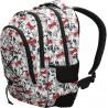 Plecak dla dziewczynki ST.RIGHT BP32 posiada 3 komory oraz boczne kieszenie na drobiazgi