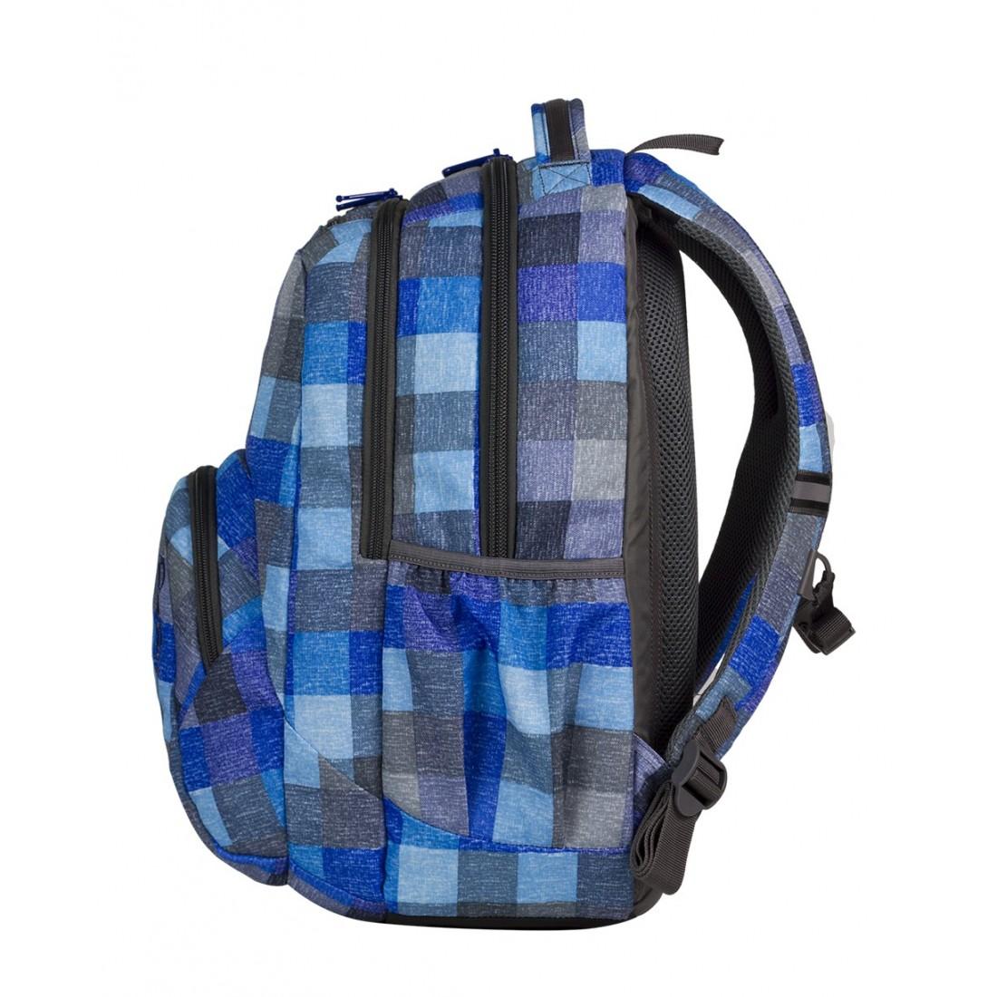 Plecak młodzieżowy CoolPack SMASH BLUE SHADES CP 403 - plecak-tornister.pl