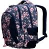 3-komorowy plecak jeansowy ST.RIGHT ROSES BP32