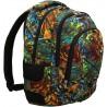 Plecak szkolny ST.RIGHT ABSTRACTION kolorowe fale iluzja BP32
