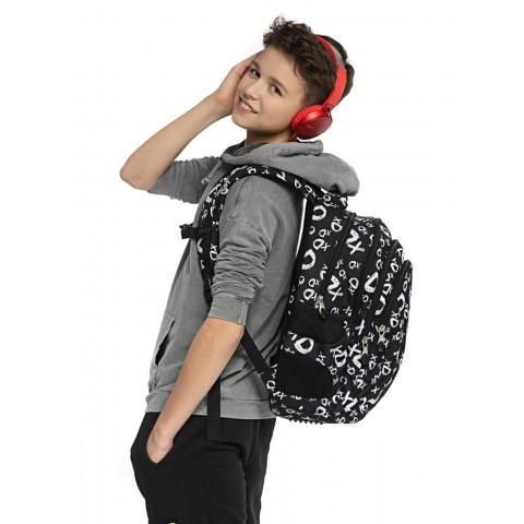 Plecak młodzieżowy ST.RIGHT xD czarny BP02