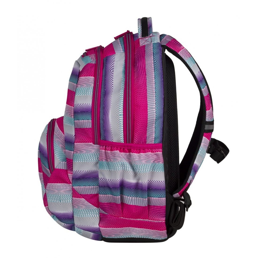 Plecak młodzieżowy CoolPack SMASH PINK TWIST CP 397 - plecak-tornister.pl