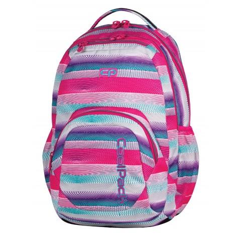 Plecak młodzieżowy CoolPack SMASH PINK TWIST CP 397