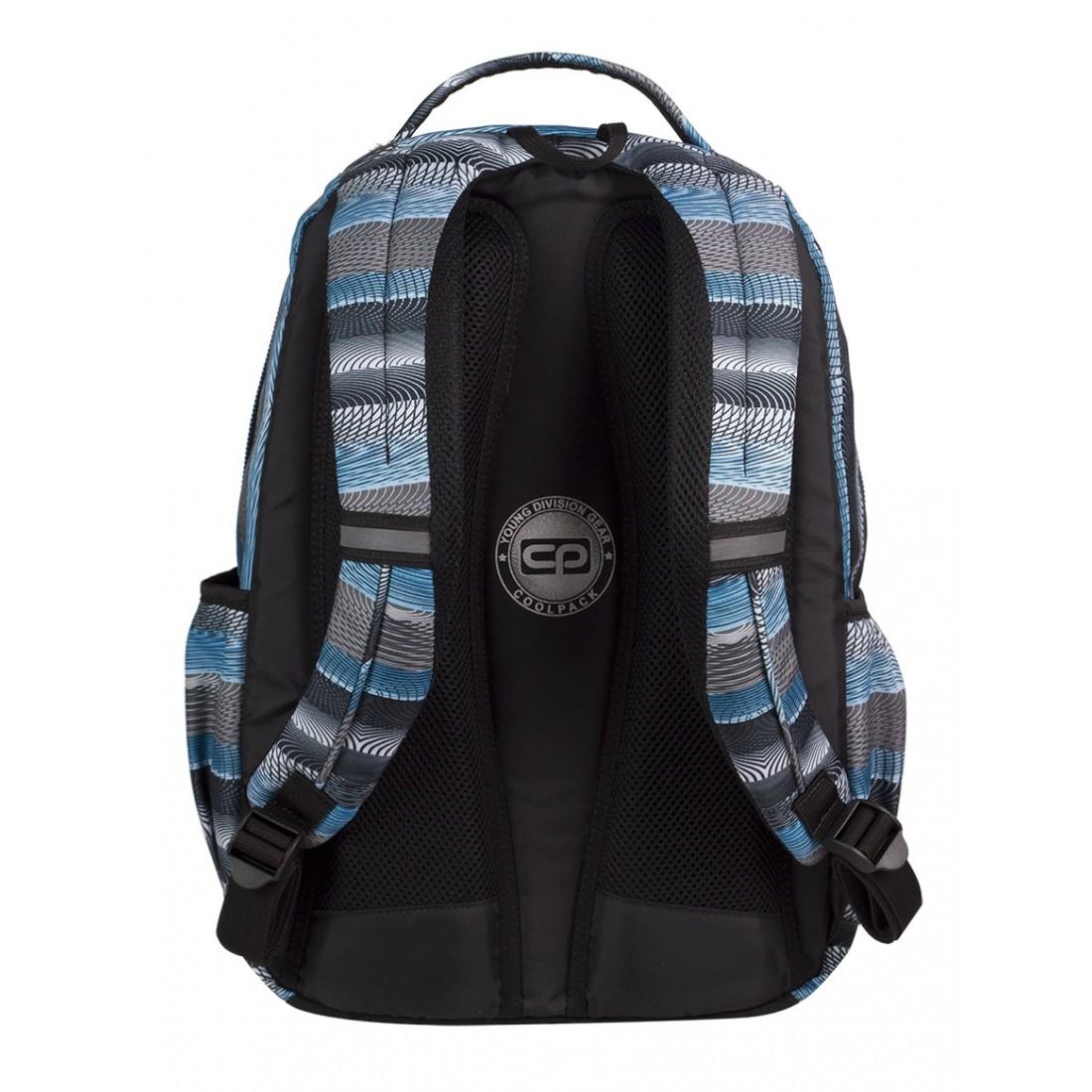 Plecak młodzieżowy CoolPack SMASH GREY TWIST CP 400 - plecak-tornister.pl
