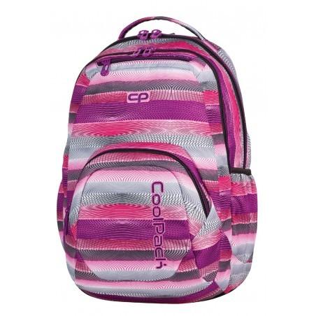 Plecak młodzieżowy CoolPack SMASH PURPLE TWIST CP 394