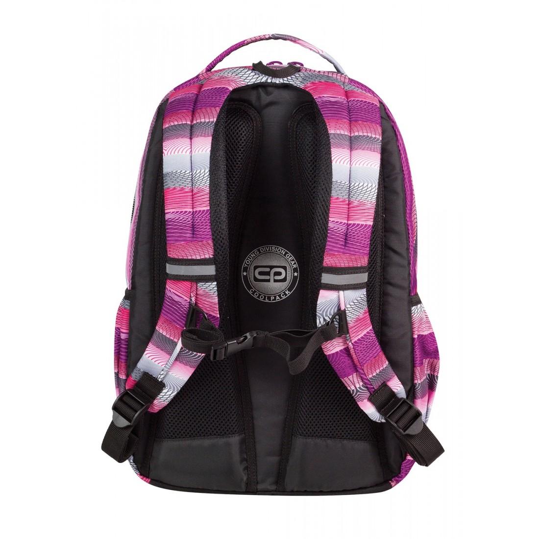 Plecak młodzieżowy CoolPack SMASH PURPLE TWIST CP 394 - plecak-tornister.pl