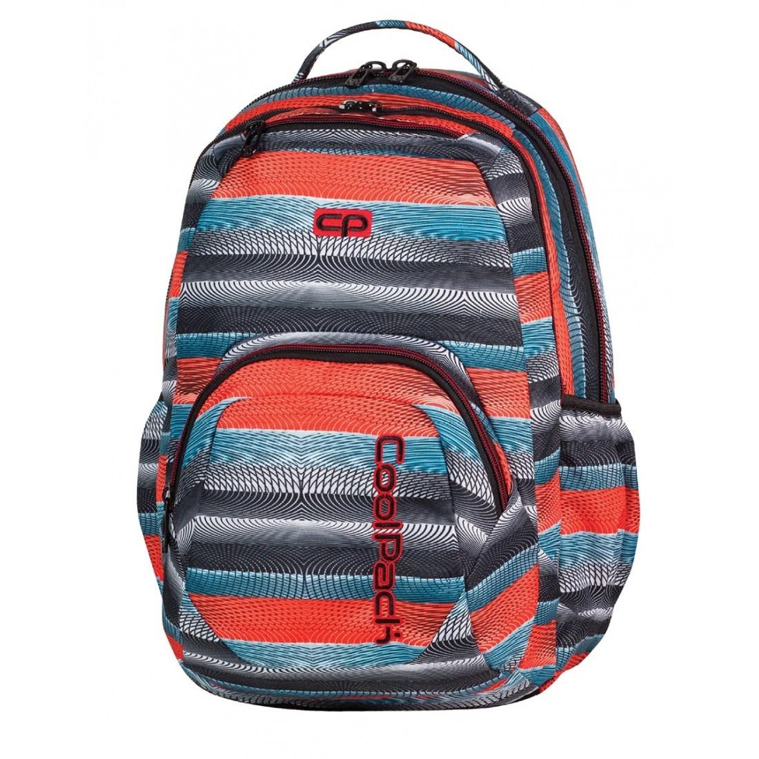 Plecak młodzieżowy CoolPack SMASH ORANGE TWIST CP 391 - plecak-tornister.pl