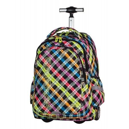 Plecak na kółkach CoolPack Junior COLOUR CHECK CP 526