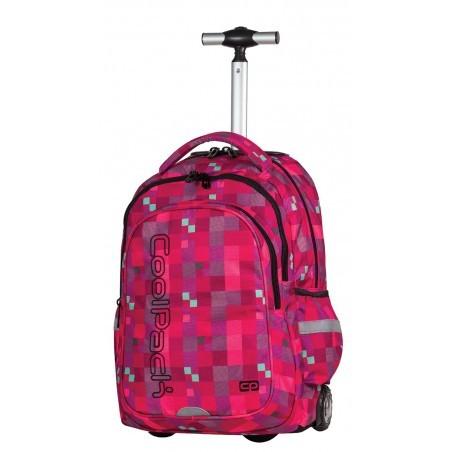 Plecak na kółkach CoolPack Junior RED BERRY CP 517