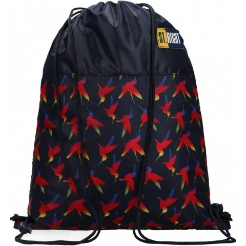 Worek szkolny na buty na WF ST.RIGHT RAINBOW BIRDS tęczowe ptaki SO01