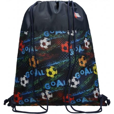 Worek szkolny na buty na WF ST.RIGHT GOAL z piłką nożną SO01