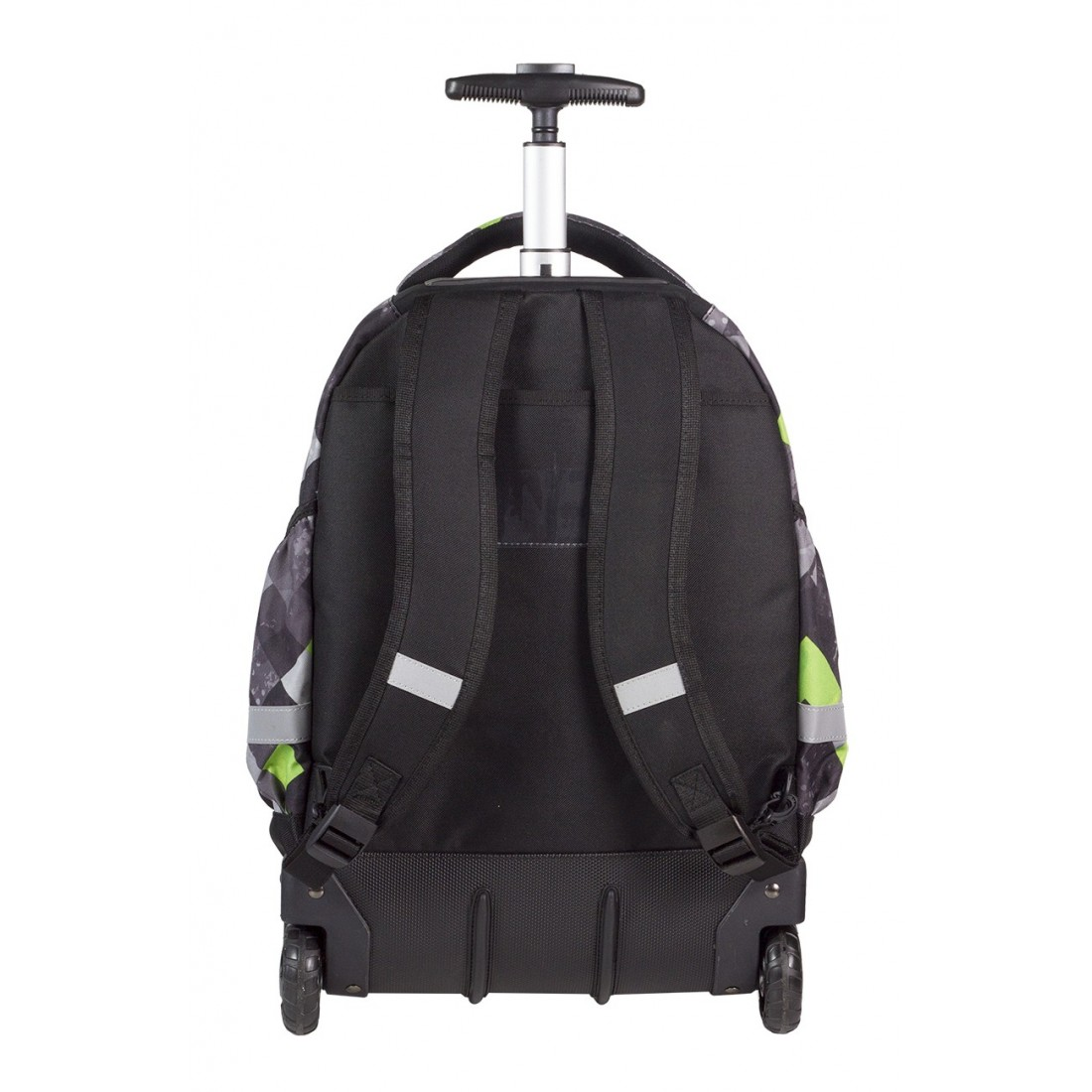 Plecak na kółkach CoolPack CP szary w kratkę RAPID GRUNGE GREY 457 - plecak-tornister.pl