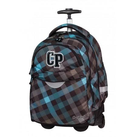 Plecak na kółkach CoolPack CP szary w kratkę RAPID CLASSIC GREY 487