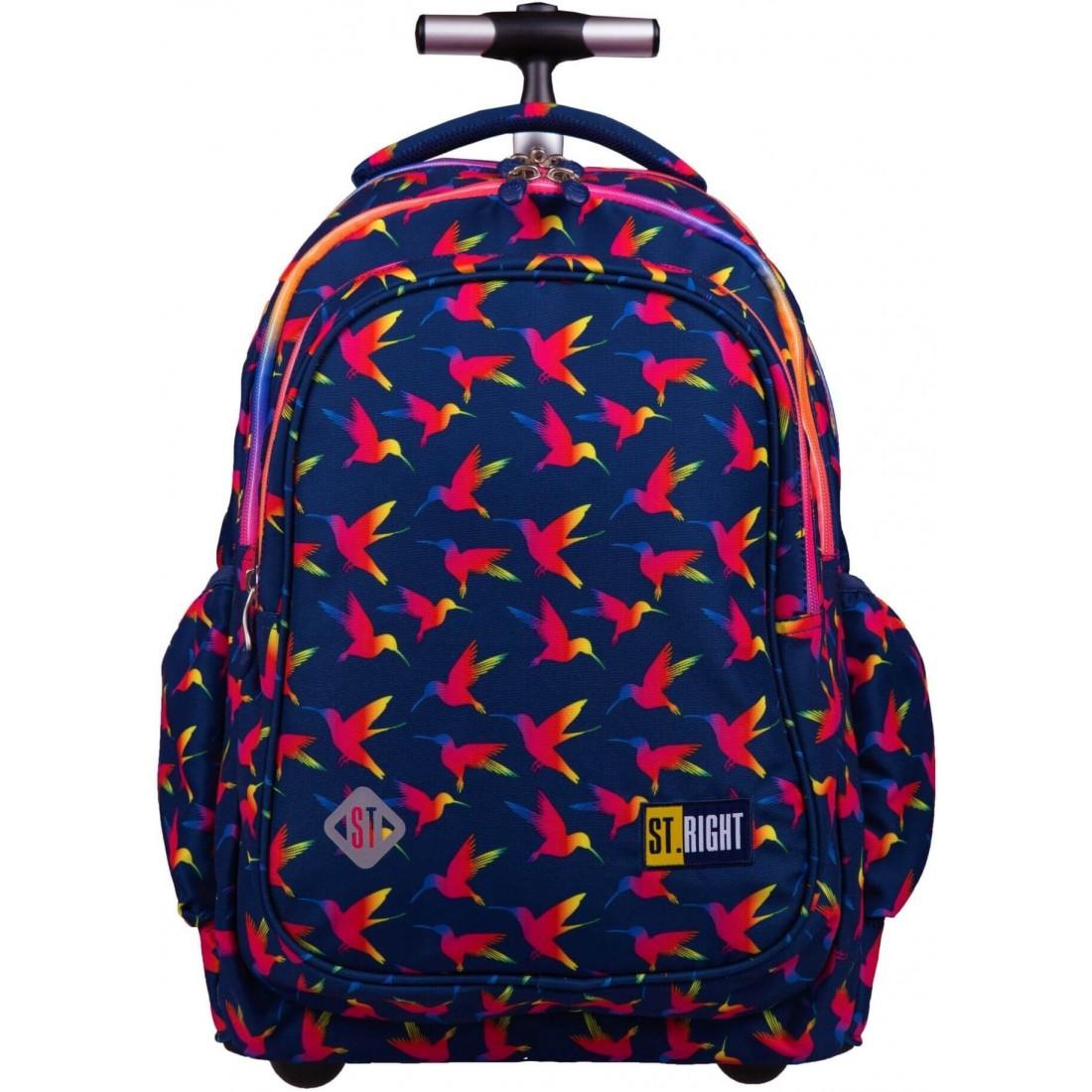 Najnowszy wzór w tęczowe ptaki ST.Right Rainbow Birds jest idealny dla nastolatek
