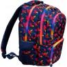 Plecak 4-komorowy dla dziewczyny ST.RIGHT Rainbow Birds BP07