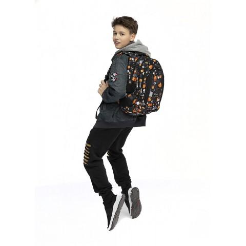 Plecak młodzieżowy ST.RIGHT CUBES kostki pixele BP04