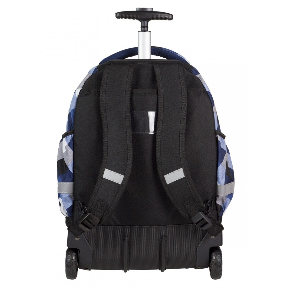 Plecak na kółkach CoolPack CP niebieski w kratkę RAPID CAMBRIDGE CP 466 - plecak-tornister.pl