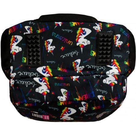 Dno plecaka ST.RIGHT Unicorns zostało dodatkowo wzmocnione