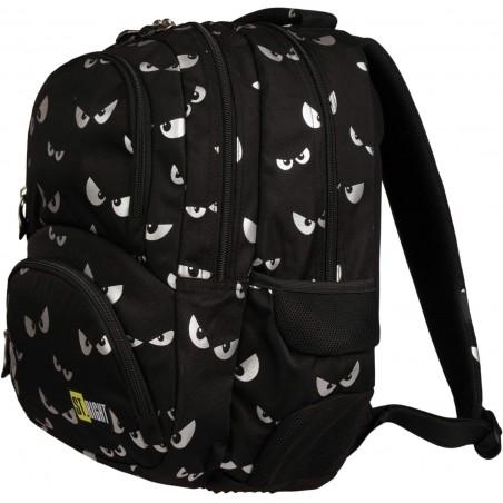 3-komorowy plecak szkolny dla młodzieży ST.RIGHT SILVER EYES BP07