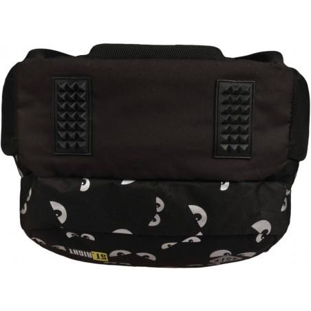 Wzmocniony spód plecaka BP07 zabezpieczy materiał przed przetarciem