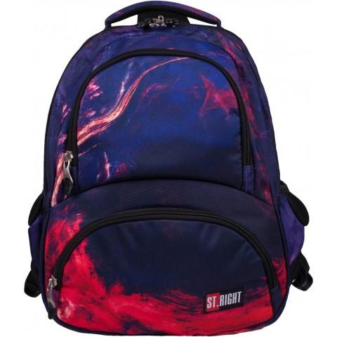 Plecak młodzieżowy ST.RIGHT FLAMES z ogniem lawą BP07