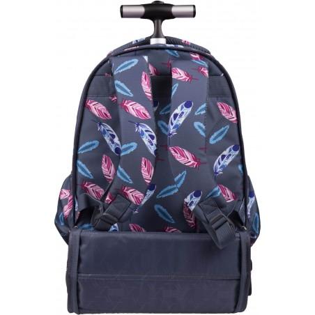 Taki plecak na kółkach ST.RIGHT TB01 wspaniale sprawdzi się również jako tradycyjny plecak noszony na ramionach