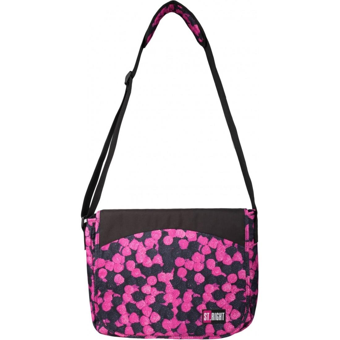 Długi pasek pozwoli na wygodne noszenie torby ST.Right Berries SB01