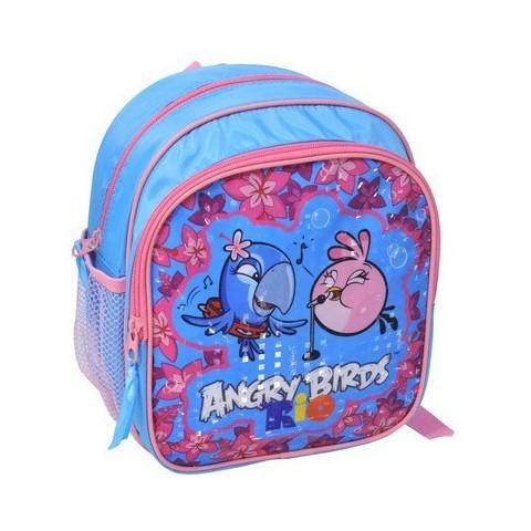 Plecaczek Angry Birds Rio niebiesko-różowy