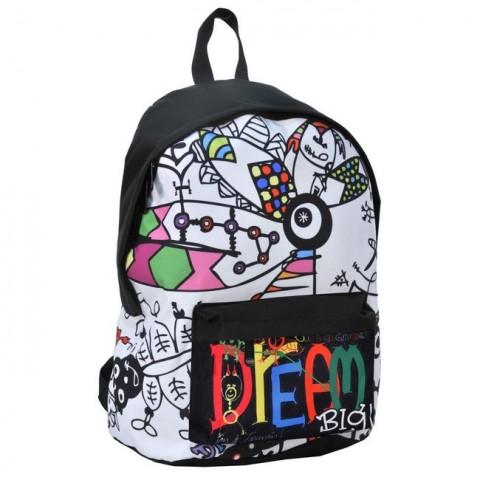 Plecak Dream Big biały