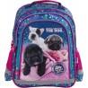 Plecak z pieskiem do 1 klasy THE DOG w pieski dla dziewczynki