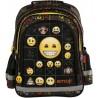 Plecak emotki dla pierwszoklasisty czarny EMOJI w kolorowe buźki