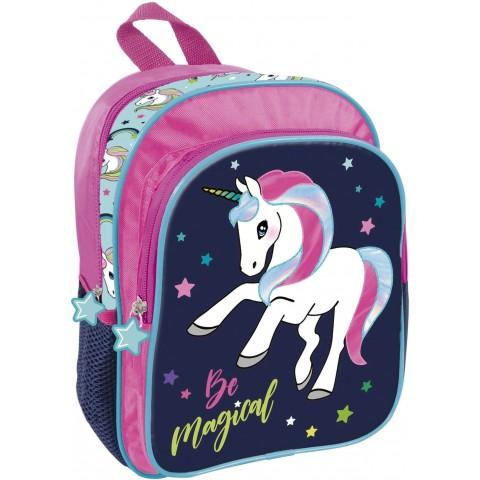 Plecak jednorożec do przedszkola UNICORN kolorowy dla dziewczynki