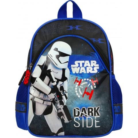 Plecak dla dziecka do przedszkola STAR WARS czarno - niebieski DARK SIDE