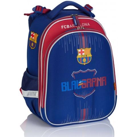 Tornister plecak szkolny ergonomiczny FC Barcelona granatowy FC-220