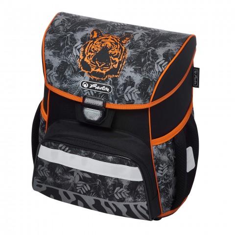Tornister szkolny dla chłopca HERLITZ LOOP TIGER szary z tygrysem + PIÓRNIK GRATIS