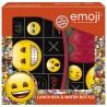 Zestaw śniadaniowy w emotki dla dziecka Emoji