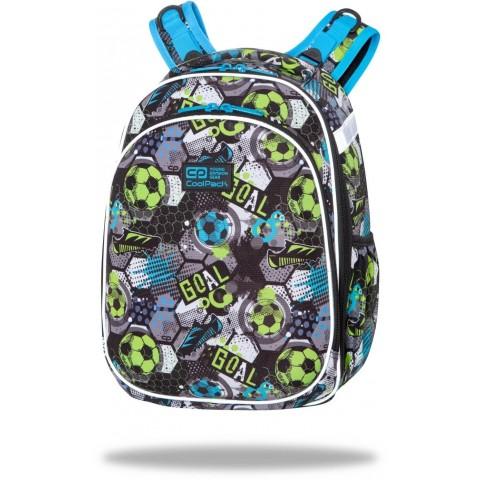 Tornister w piłki chłopięcy plecak CoolPack FOOTBALL kolorowy TURTLE CP