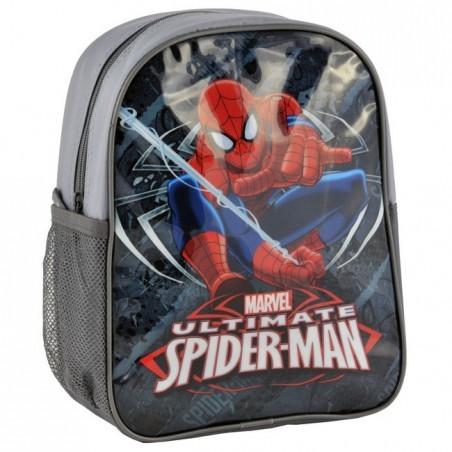 Plecaczek Spider-Man szary