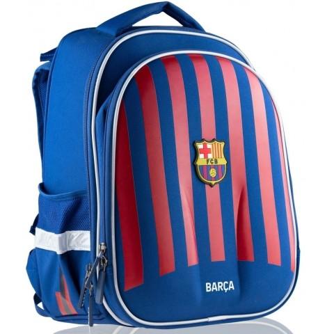 Tornister plecak chłopięcy FC Barcelona do szkoły granatowy czerwony FC-260
